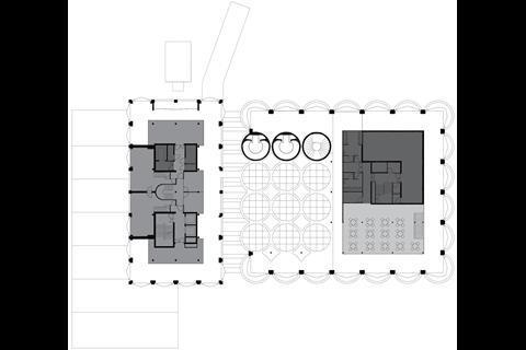 Heatherwick's Zeitz MOCAA - plan level 6 mezzanine